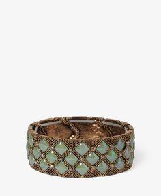 Checkered Chain Bracelet   FOREVER21 - 1025102149