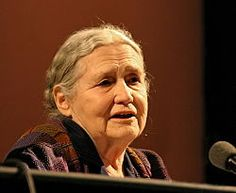 "Doris May Lessing is a Zimbabwean-British novelist, poet, playwright, librettist, biographer and short story writer. Lessing was awarded the 2007 Nobel Prize in Literature. In doing so the Swedish Academy described her as ""that epicist of the female experience, who with scepticism, fire and visionary power has subjected a divided civilisation to scrutiny"". Lessing was the eleventh woman and the oldest ever person to receive the Nobel Prize in Literature."