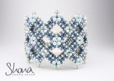 Gallery of beautiful beaded jewellery designed and made by Shona Bevan
