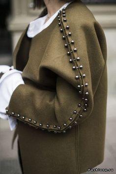 izyum odyozhnye detali belle robe mode tendance manteau veste diy vetement