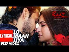 Lo Maan Liya Lyrics in Hindi: This song is from Bollywood movie Raaz: Reboot which is sung by Arijit Singh. Raaz Reboot, Reboot Movie, Movie Songs, Hindi Movies, Hum Aapke Hain Koun, Popular Song Lyrics, Latest Video Songs, Broken Song, Gulshan Kumar