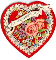 Vintage Valentine Heart