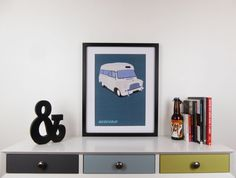 High Quality Unique Print.  For All Those Lovers of Classic and Vintage Cars and Vans. Here We Have A Minimal Interpretation of an Old Bedford Ambulance, This Print Would Look Great On an Office or Workshop Wall or Simply to Brighten Up That Blank Space on The Wall.  Created as Part of Our Minimal Poster Collection.   ITEM DETAILS & SPECIFICATION  ► Printed on: 250gsm White Card Stock ►Dimensions: A3 (11.5 x 16.5).  ► Print Ready For Framing (Frame Not Included).  ►Colours May Vary Slight...