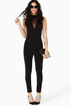 Nasty Gal Hot To Dot Jumpsuit at Nasty Gal