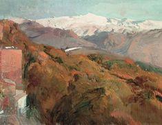 Sierra Nevada en otoño. Joaquín Sorolla
