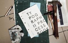 Typography II: process book — by lara loi