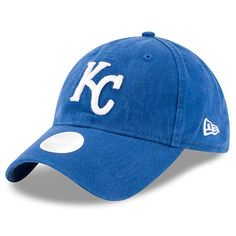 best service 2f261 75536 New Era Kansas City Royals Women s Royal Preferred Pick 9TWENTY Adjustable  Hat