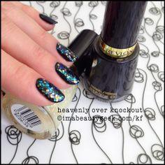 Revlon Heavenly over Revlon Knockout ©imabeautygeek.com