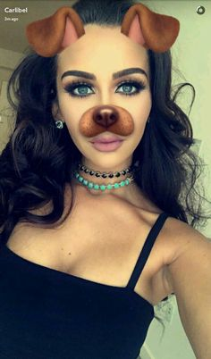 Carli Bybel. Snapchat dog filter. #beautybybel #carlibel #carlipenguin #carlibybel