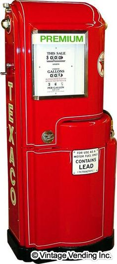 Wayne 100 Swing-Arm Gas Pump. We dont have one like this...yet lol