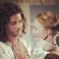 Francois Arnaud as Cesare Borgia and Holliday Grainger as Lucrezia Borgia in The Borgias. Given that Cesare actually died of syphilis and Lucrezia outlived him by many years, it is unlikely that they had an incestous affair Os Borgias, Showtime Tv Series, Borgia Series, Francois Arnaud, Holliday Grainger, Lucrezia Borgia, Crime, Sister Act, Brother
