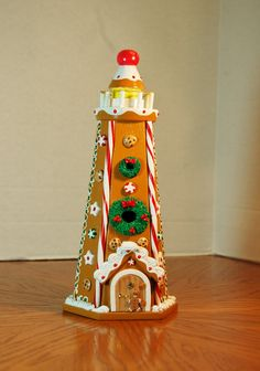 Gingerbread Lighthouse by GingerbreadFaire on Etsy