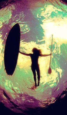 SUP mermaid..  #SUP #paddleboard #standuppaddle