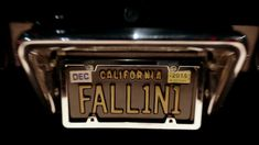 Lucifer's car license plate - The Fallen` One