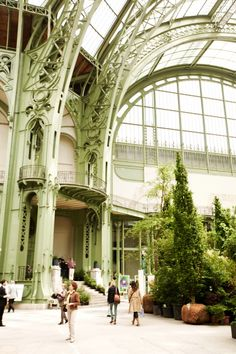 L'Art du Jardin, inside the Grand Palais in Paris