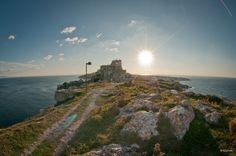 Isola di San Nicola in un pomeriggio d'ottobre