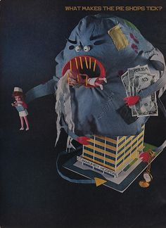 The Linen Monster    Devouring already inadequate storage space...  Strangling overburdened laundry facilities...  Stuffing overworked sterilizers..  Ravaging precious time, labor and money!    Barrier Surgical Gown and Drape Packs by Johnson & Johnson