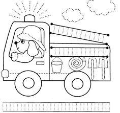 Fire Safety Week Worksheet For Kids 38 Charming Community Helpers Printables Worksheets Kindergarten Pdf Tracing Worksheets, Kindergarten Worksheets, Worksheets For Kids, Preschool Activities, Printable Worksheets, Printables, Pre Writing, Writing Skills, Transportation Worksheet