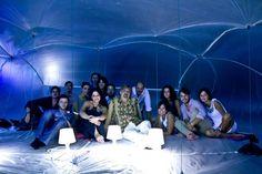 Il gruppo Nitro all' interno di Puff! Sicily Lab 2012, Gioiosa Marea.