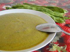 Mis Recetas Anticáncer: Crema de judías verdes al curry