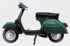 Vespa 150 Sprint Veloce Original Color Vallombrosa Green