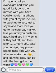 text messages to make her want you