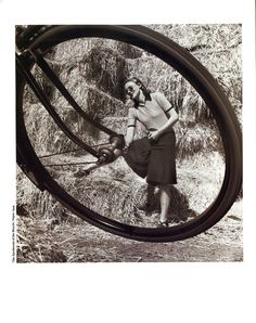 The Apotheosis Of The Bicycle    Vogue, 1944 by Norman Parkinson
