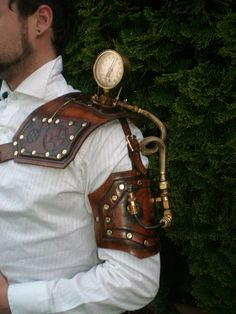 steampunk Gauged shoulder by ~Skinz-N-Hydez on deviantART