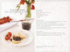 Tapenade Noire (per i primi aperitivi all'aperto)