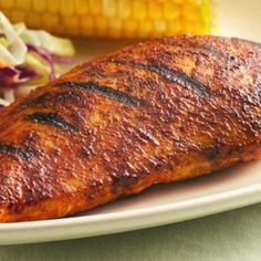 Ultimate Barbecue-Rubbed Chicken Recipe | Just A Pinch Recipes