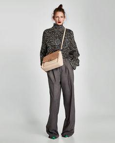 ZARA - MUJER - CITYBAG DETALLE CIERRE Zara New, Zara Bags, City Bag, Zara Women, Fashion Accessories, Normcore, Clothes, Detail, Collection