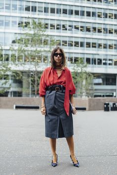 London Fashion Week Street Style Spring 2018 Day 4 - The Impression