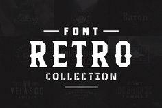 Retro Font Collection