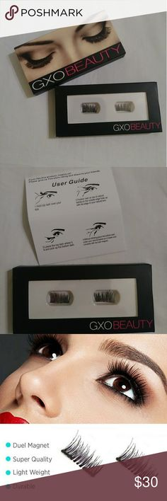 🆕 Double Magnetic 3D Lashes🚨🚨🚨2DAY ONLY 👀 New In Box  👀 GXO Beauty Cosmetics 👀 Double Magnetic 3D Mink Fiber Eye Lashes  👀 Can be reused  👀 Easy to apply  👀 No Glue or Mess 👀 Mink Fiber  👀 Comes with easy instructions   🚨 And ALWAYS Look to see what is the best        Deal before you purchase or ALWAYS use        Offer button 🔘 🍭🍭🍭🍭🍭🍭🍭🍭🍭🍭🍭🍭🍭🍭🍭🍭 Sephora Makeup False Eyelashes