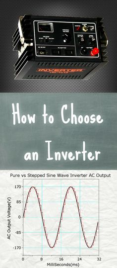 Inverters are needed to convert off-grid DC power into AC power for home appliances. This guide on how to choose an inverter covers how inverters function and the difference between pure vs modified sine wave inverters. Read the post to learn. #inverter #puresinewave #modifiedsinewave