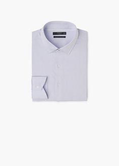 Camisa slim-fit Tailored estructura 39.99