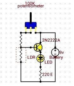 Latest LDR Projects for Engineering Students - LDR Circuits ...