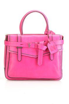 Reed Krakoff Boxer Handbag In Fuchsia