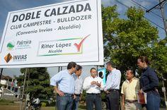Diario Vallevirtual: Alcalde inspeccionó inicio de obras de la doble ca...