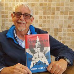 Henry Korn holding the very first copy of Amerikan Krazy - http://boffosocko.com/2016/02/29/henry-korn-holding-the-very-first-copy-of-amerikan-krazy/