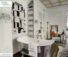 LA house - Master Bath - Styled for Veranda's House of Windsor Designer Showcase