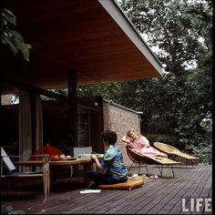 Beattie Residence - Rye, New York - 1958