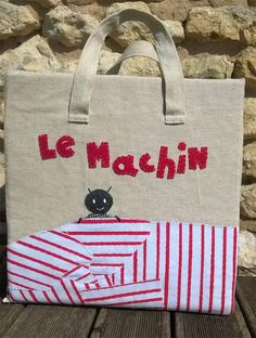 Le machin - Conte en sac Petite Section, Paper Shopping Bag, Montessori, Jeunesse, Reusable Tote Bags, Preschool, Albums, Images, Short Stories