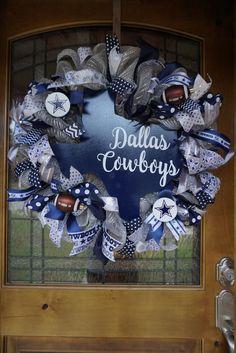 Dallas Cowboys Wreath Cowboys Wreath Dallas Wreath Dallas