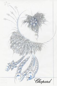 Chopard. necklace sketch...♡
