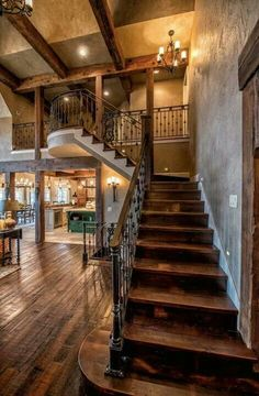 Gorgeous stairs, floors... Spanish style or southwest home