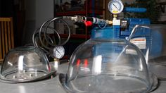 How to Make a Lab Vacuum Chamber The Bell Jar, Vacuum Pump, Glass Kitchen, Spark Plug, Science Projects, Vacuums, Science And Technology, Lab, Pumps