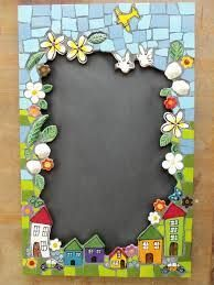 Trunell Mosaics - handmade ceramic inserts and tiles mosaic workshops Mirror Mosaic, Mosaic Wall, Mosaic Glass, Glass Art, Sea Glass, Stained Glass, Mosaic Crafts, Mosaic Projects, Projects To Try