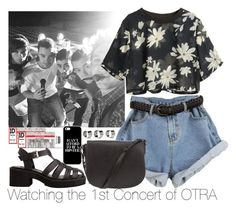 """""""Watching the 1st Concert of OTRA"""" by zarryalmighty ❤ liked on Polyvore featuring Maison Margiela, Alexander Wang, H&M, OneDirection, onedirectionoutfits and OTRATour"""