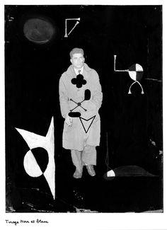 Série Canaille (version numérique) de Maurice Lemaitre D.R 1950-1964. Maurice, Batman, Collage, Superhero, Artist, Movie Posters, Movies, Photography, Fictional Characters